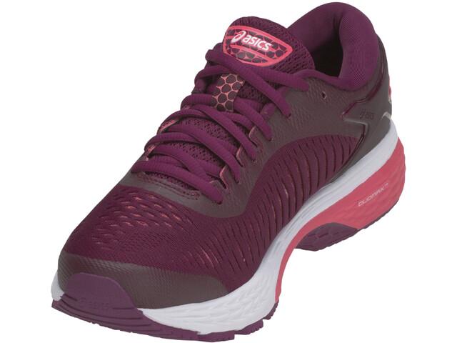 9e4bbe45b4b asics Gel-Kayano 25 Hardloopschoenen Dames roze/violet l Online ...